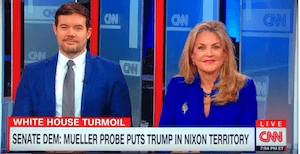 Kristan Peters-Hamlin on CNN